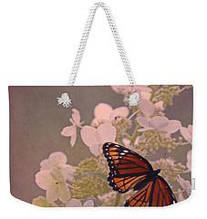 Butterfly Glow Weekender Tote Bag