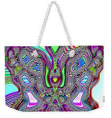 Butterfly Groove Weekender Tote Bag