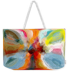 Butterfly In Abstract Weekender Tote Bag