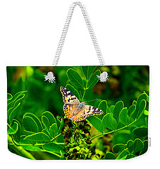 Butterfly In Paradise Weekender Tote Bag