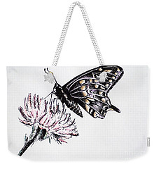 Butterfly Weekender Tote Bag by Katharina Filus