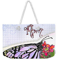 Butterfly Kisses Weekender Tote Bag