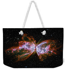 Butterfly Nebula Ngc6302 Weekender Tote Bag by Adam Romanowicz