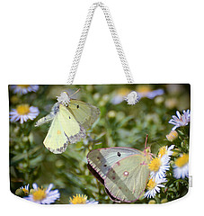 Butterfly Moments  Weekender Tote Bag by Kerri Farley