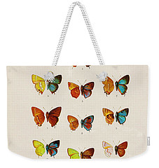 Butterfly Plate Weekender Tote Bag