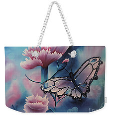 Butterfly Series 6 Weekender Tote Bag by Dianna Lewis