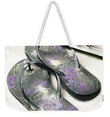 Butterfly Summer Weekender Tote Bag by Angela DeFrias