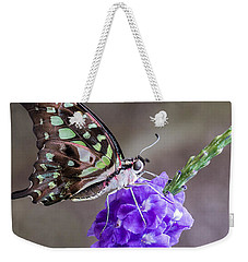 Butterfly - Tailed Jay I Weekender Tote Bag