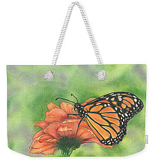 Butterfly Weekender Tote Bag by Troy Levesque
