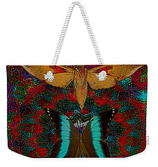 Solar Butterfly Weekender Tote Bag by Joseph Mosley
