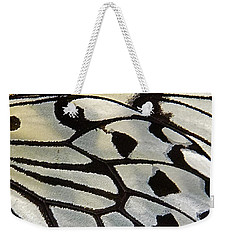Butterfly Wing Weekender Tote Bag by Jocelyn Kahawai