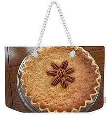 Buttermilk Pecan Pie Weekender Tote Bag by Connie Fox