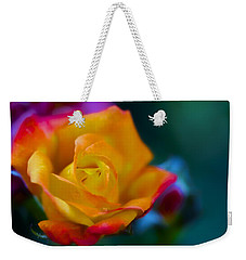Butterscotch Rose Weekender Tote Bag