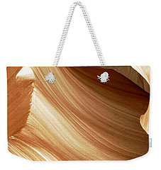 Butterscotch Taffy Antelope Canyon Weekender Tote Bag