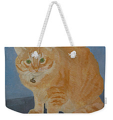 Butterscotch The Cat Weekender Tote Bag