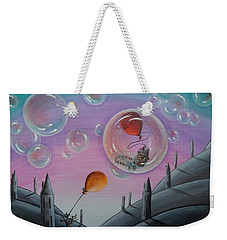 Buubble Trouble Weekender Tote Bag
