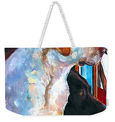 By My Side Weekender Tote Bag