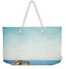 Weekender Tote Bag featuring the photograph By The Lagoon by Lisa Parrish