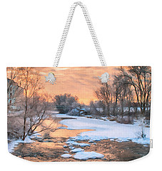 By The Old Mill Weekender Tote Bag