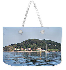 Weekender Tote Bag featuring the photograph By The Sea by George Katechis