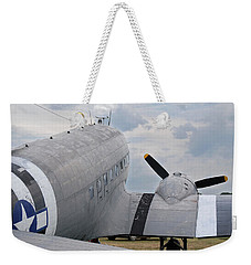 Weekender Tote Bag featuring the photograph C-47 3880 by Guy Whiteley