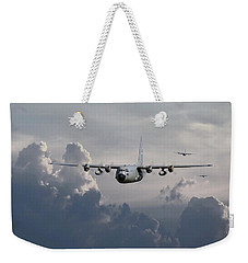 C130 Hecules    In Trail Weekender Tote Bag