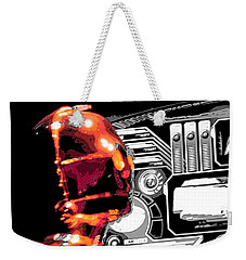 Weekender Tote Bag featuring the digital art C3po by J Anthony
