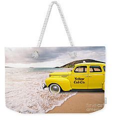 Cab Fare To Maui Weekender Tote Bag by Edward Fielding