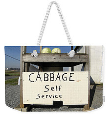 Cabbage Self Service Weekender Tote Bag