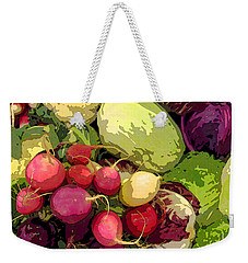 Cabbages And Radishes Weekender Tote Bag