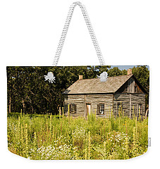 Cabin In The Prairie Weekender Tote Bag