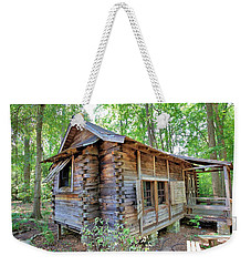 Weekender Tote Bag featuring the photograph Cabin In The Woods by Gordon Elwell