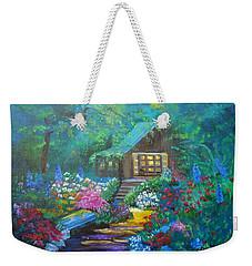 Cabin In The Woods Jenny Lee Discount Weekender Tote Bag