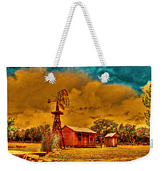 Cabin On A Windy Hilltop Weekender Tote Bag