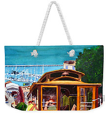 Cable Car No. 17 Weekender Tote Bag by Mike Robles