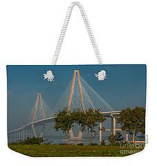 Cable Stayed Bridge Weekender Tote Bag