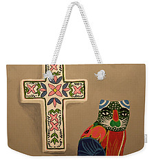 Weekender Tote Bag featuring the painting Cabo Gato 2 by Marna Edwards Flavell