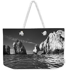 Cabo In Black And White Weekender Tote Bag