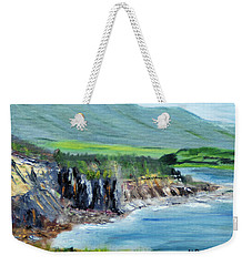 Cabot Trail Coastline Weekender Tote Bag