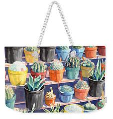 Cacti Chorusline Weekender Tote Bag