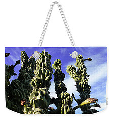 Weekender Tote Bag featuring the photograph Cactus 2 by Mariusz Kula