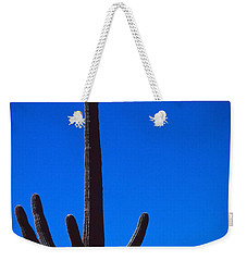 Cactus And Moon Weekender Tote Bag