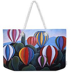 Cactus Fiesta Weekender Tote Bag
