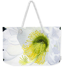 Cactus Flower II Weekender Tote Bag by Mike Robles