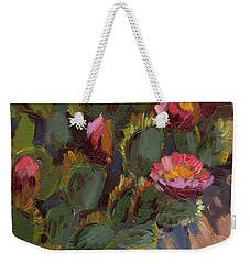 Cactus In Bloom 2 Weekender Tote Bag