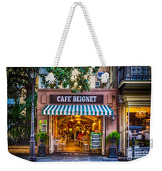 Cafe Beignet Morning Nola Weekender Tote Bag