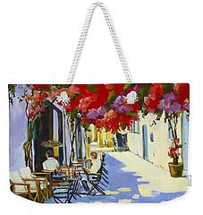 Cafe Weekender Tote Bag
