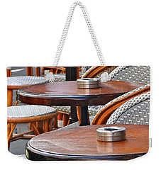 Cafe Janine Weekender Tote Bag