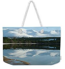 Cairngorm Winter Weekender Tote Bag by Phil Banks