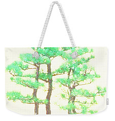 Caitlin Elm Bonsai Tree Weekender Tote Bag